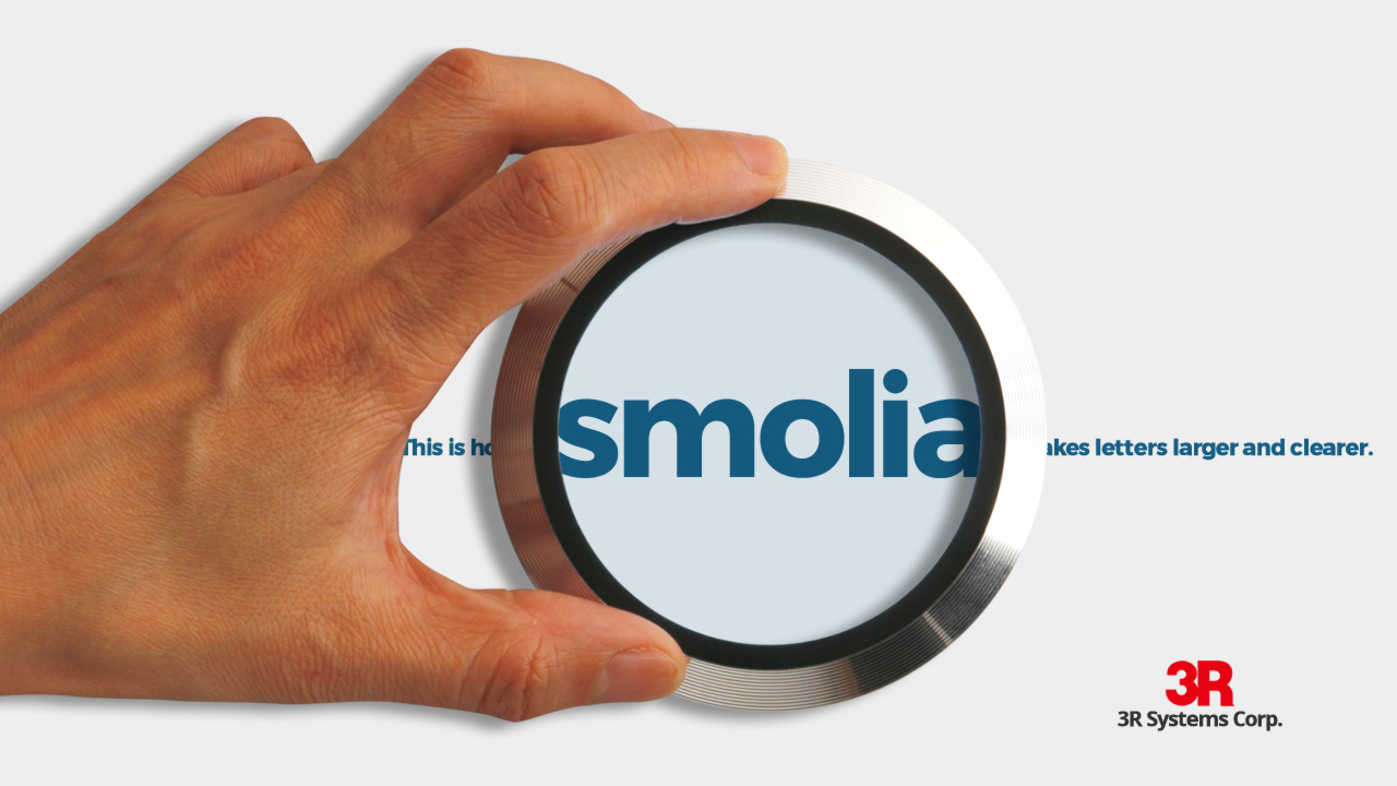 smolia | Japan-branded magnifying viewer with LED